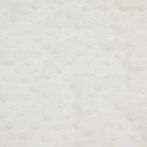 Minky smetanové, protlačované ťuplíky, š.150