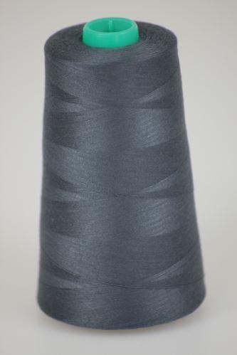 Niť KORALLI polyesterová 120, 5000Y, odtieň 9465, šedá