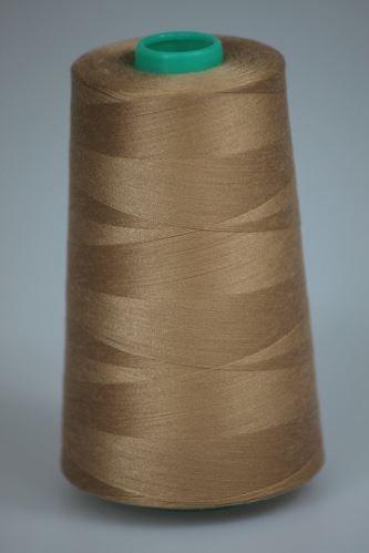 Nit KORALLI polyesterová 120, 5000Y, odstín 7250, béžová