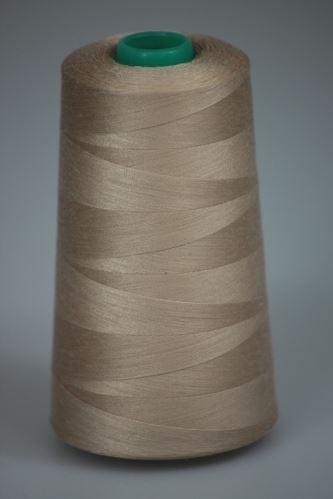 Nit KORALLI polyesterová 120, 5000Y, odstín 7255, béžová