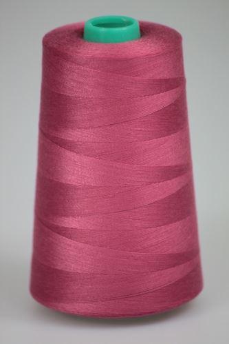 Niť KORALLI polyesterová 120, 5000Y, odtieň 3560, ružová