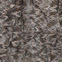 Čipka hnedá vzorovaná, š.135