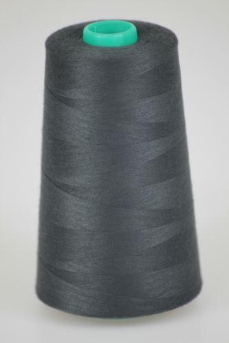 Nit KORALLI polyesterová 120, 5000Y, odstín 9480, šedá