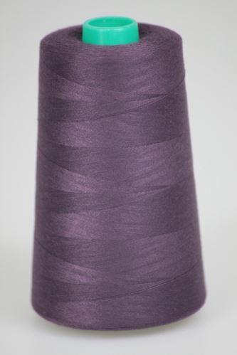 Niť KORALLI polyesterová 120, 5000, odtieň 4470, fialová-hnedá