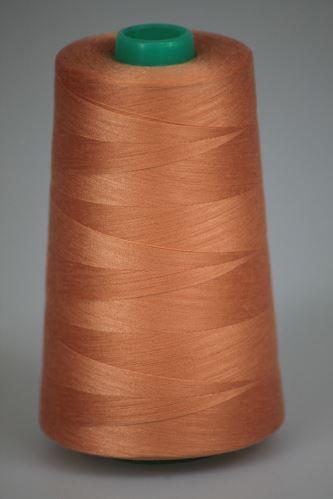 Niť KORALLI polyesterová 120, 5000Y, odtieň 2210, ružová