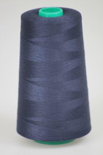 Niť KORALLI polyesterová 120, 5000Y, odtieň 5670, modrá