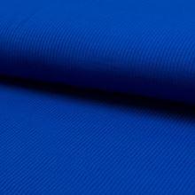 Úplet rebrový kráľovsky modrý, 180g/m, š.145
