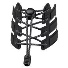 Reflexné elastické šnúrky - čierne