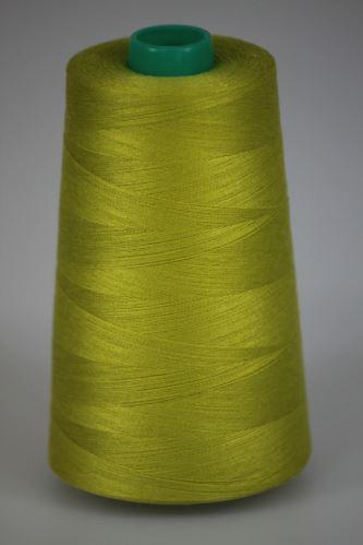 Niť KORALLI polyesterová 120, 5000Y, odtieň 6825, zelená
