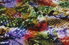 Úplet farebný 15372, zvierací vzor š.150