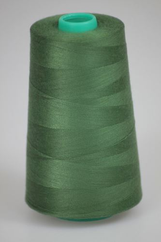 Niť KORALLI polyesterová 120, 5000, odtieň 6635, zelená