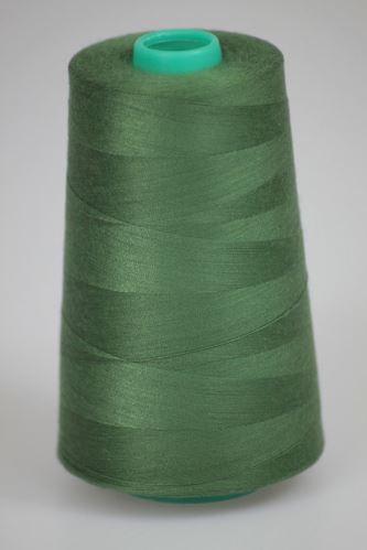 Niť KORALLI polyesterová 120, 5000Y, odtieň 6635, zelená