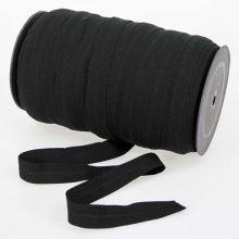 Pruženka lemovací černá, šíře 18mm