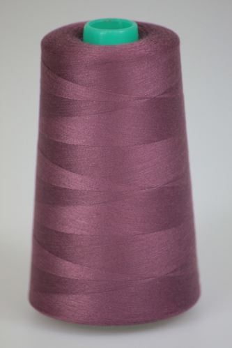 Niť KORALLI polyesterová 120, 5000, odtieň 3285, ružová-fialová