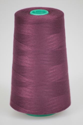 Niť KORALLI polyesterová 120, 5000, odtieň 2770, fialová