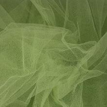 Tyl závojový světle zelený š.180