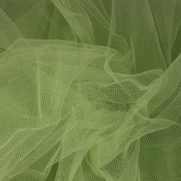 Tyl závojový svetlo zelený š.180