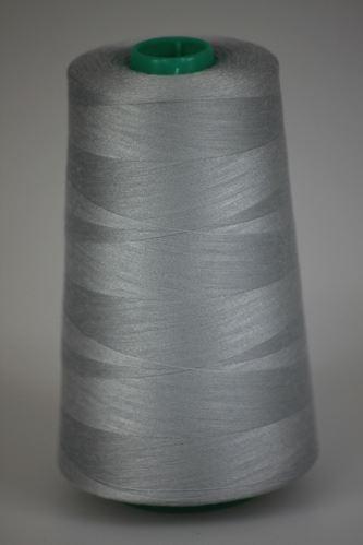 Niť KORALLI polyesterová 120, 5000, odtieň 9170, šedá