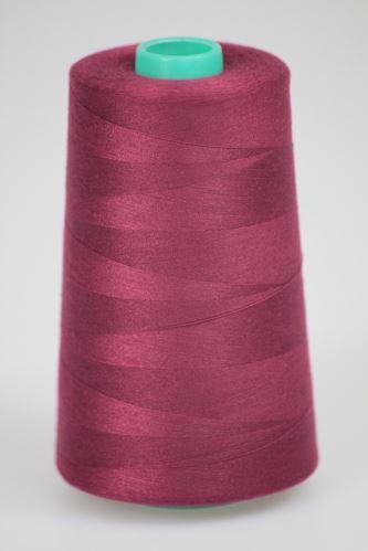 Niť KORALLI polyesterová 120, 5000Y, odtieň 3660, fialová