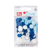 """Patentky Prym Love kulaté """"Color Snaps"""" 393009, 12,4 mm"""