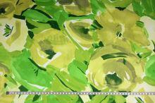 Šatovka zelenožlutý vzor, š.145