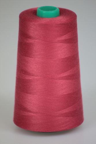 Niť KORALLI polyesterová 120, 5000, odtieň 3540, ružová