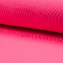 Náplet žebrovaný RIB 2/2, růžový neon, š.2x35