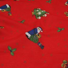 Vánoční látka, dekoračka BW456, š.140