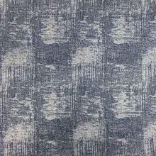 Úplet šedomodrý, stříbrný tisk, š.145