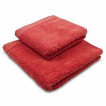 Ručník mikrobavlna Sleep Well 50x100 cm, červený