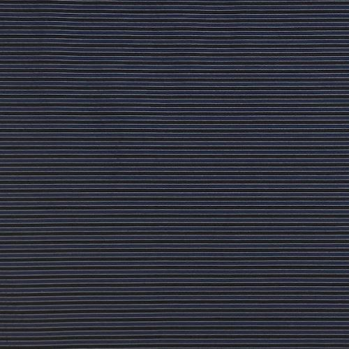 Taft 11157, modročierny pruh, š.150