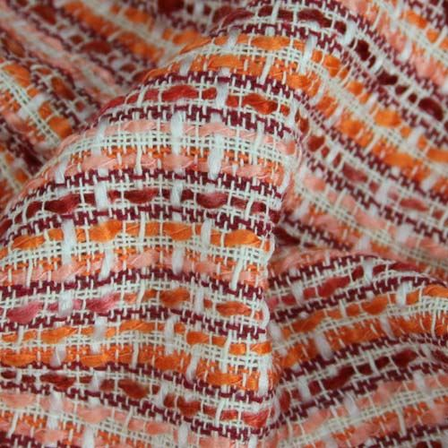 Kostýmovka oranžovo-ružová, š.150