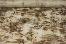 Košilovina hnědobéžový vzor, š.135