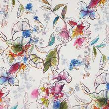 Šatovka biela, ružovo-modré kvety, š.145
