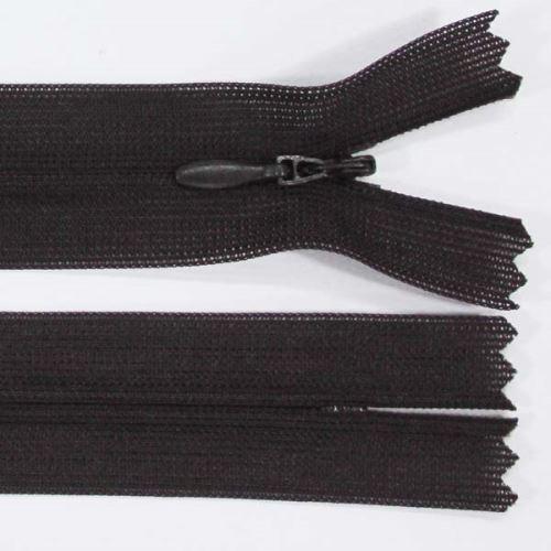 Zip skrytý šatový 3mm délka 30cm, barva 304
