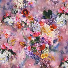 Taft N4533, barevný květ, š.145