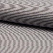 Kostýmovka šedo-modrý tenký pruh, š.160