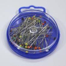 Špendlíky dlhé so sklenenou hlavičkou 0,65x44mm, 10g