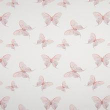 Úplet 21780 biely, púdrový motýle, š.145
