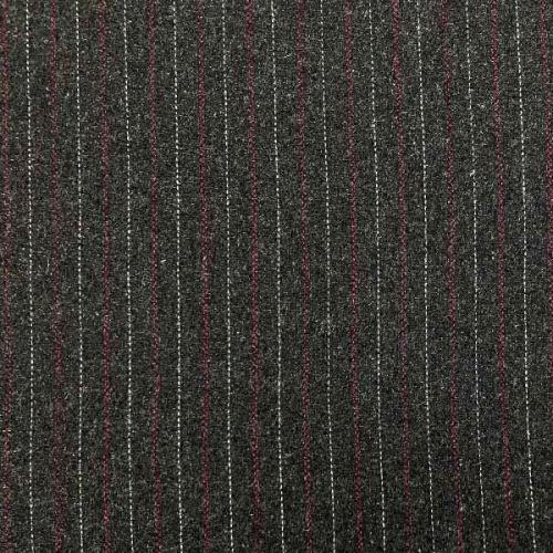 Kostýmovka 06799 šedá, růžovobílý pruh š.150
