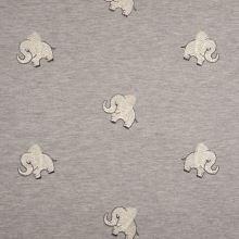 Úplet sivá melanž, sloníky, š.145