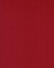 Autokoženka perforovaná červená, š.140