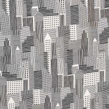 Šatovka bielo-čierne budovy, š.145