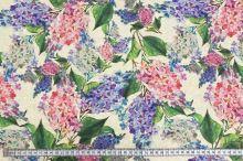 Dekoračná látka P0568, kvety orgovánu, š.140