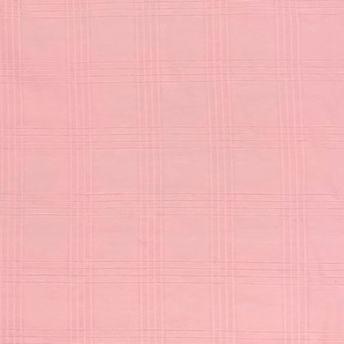 Košeľovina 09912 ružová, káro š.150