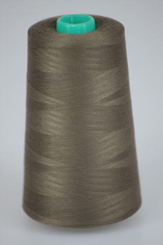 Nit KORALLI polyesterová 120, 5000Y, odstín 8660, hnědá