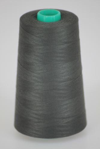 Niť KORALLI polyesterová 120, 5000Y, odtieň 9560, šedá