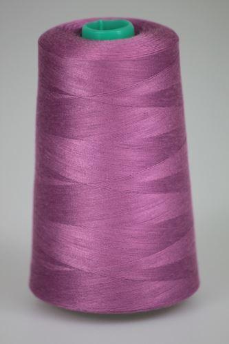 Niť KORALLI polyesterová 120, 5000Y, odtieň 4555, fialová