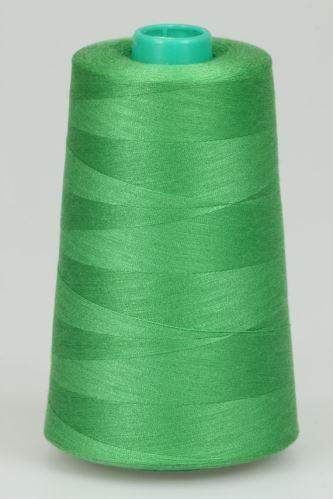 Niť KORALLI polyesterová 120, 5000Y, odtieň 6335, zelená