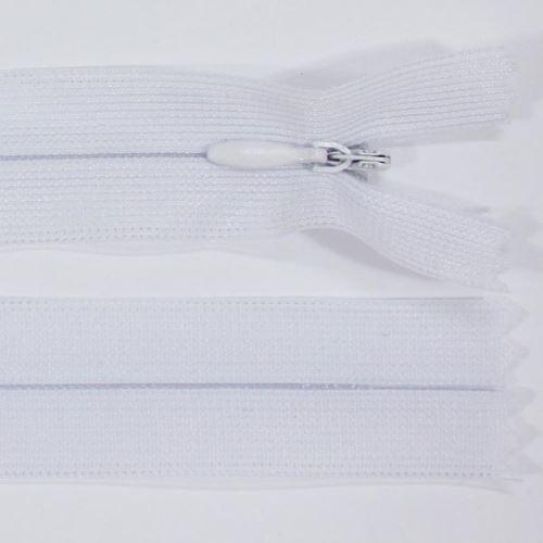 Zips skrytý šatový 3mm dĺžka 55cm, farba 101